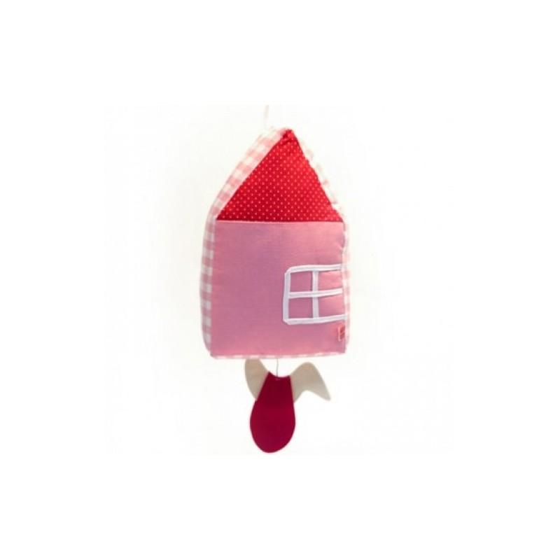 Boite à musique 'La maison rose'