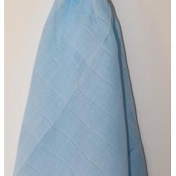 Lange en coton bleu