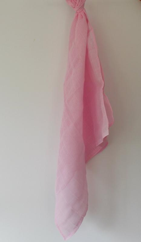 Lange en coton rose