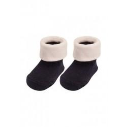 Paire de chaussettes 'Naissance' marine
