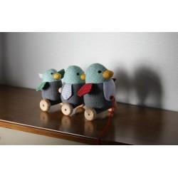 Famille de pingouins 'GUFO' à tirer