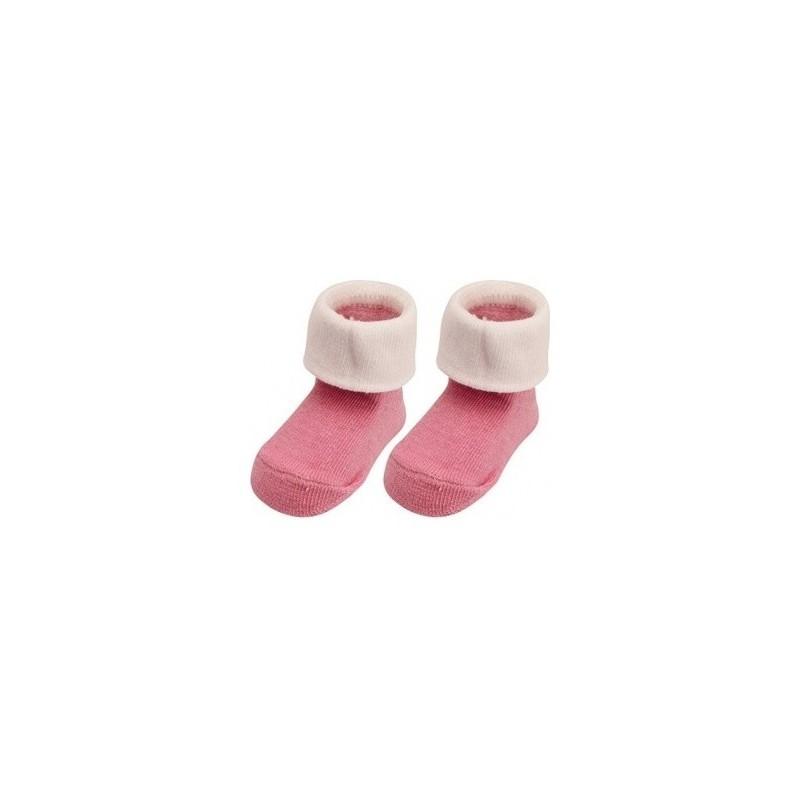 Paire de chaussettes 'Naissance' rose