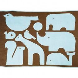 Tapis plaid multifonction-Les animaux