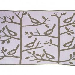Tapis plaid multifonction-Les oiseaux