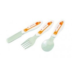 Set de couverts en inox 'girafe'
