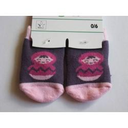 Petites chaussettes motif 'Poupée'