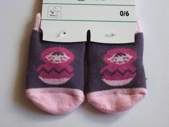 Petites chaussettes motif...