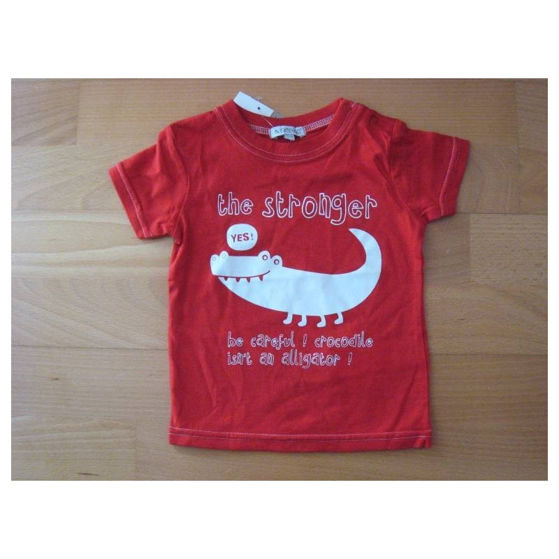 Tee-shirt rouge  18 mois