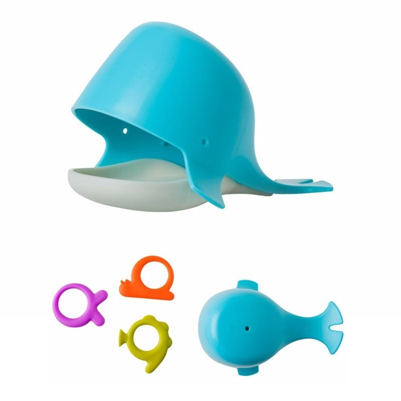 Baleine de bain + 3 éléments Anneaux