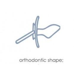 Sucette orthodontique  motif: lapin taille: C