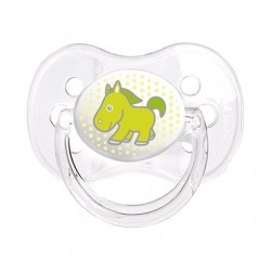 Sucette orthodontique motif:cheval taille: A