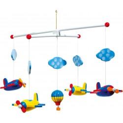 Mobile avions et montgolfière