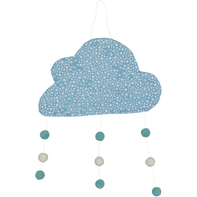 Mobile Nuage Constellations bleues CHOUCHOUETTE