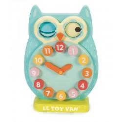 Horloge Hibou Clin d'Oeil Jouet en bois