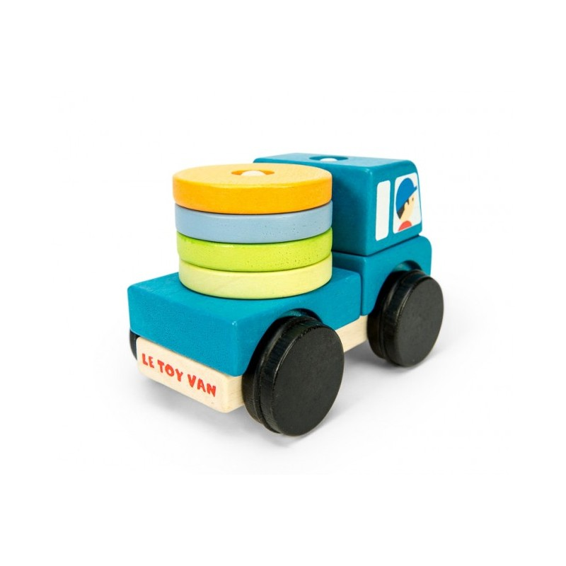 Camion en bois: éléments empilables Le Toy Van
