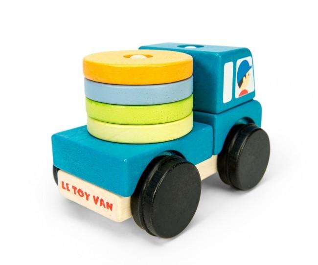 Camion en bois: éléments...