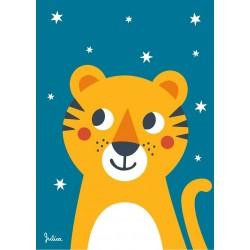 Poster Phosphorescent 'Tigre'