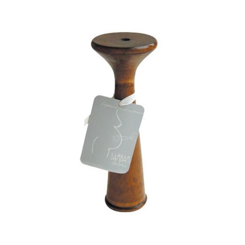 Stéthoscope en bois pour écouter bébé