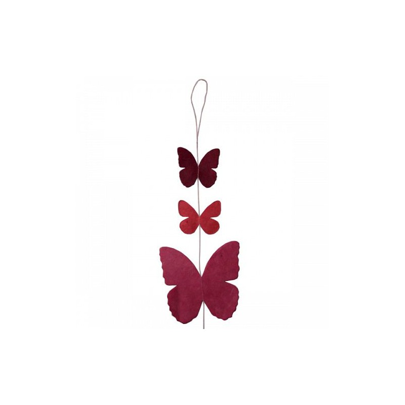 Guirlande 'Papillon' Rose LAMALI