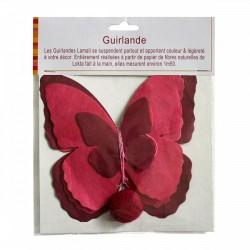 Guirlande 'Papillon' Rose
