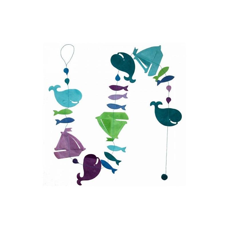 Guirlande 'Régate' Turquoise LAMALI