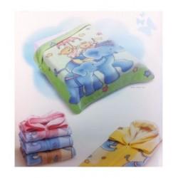 Baby sac-Nid d'ange vert Motifs ours et éléphant