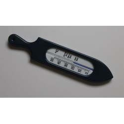 Thermomètre de bain bleu marine