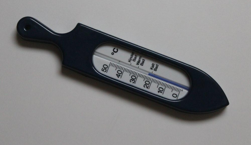 Thermomètre de bain bleu...