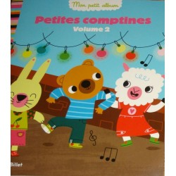 Livre 'Petites comptines V.2'  Marion Billlet