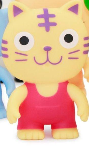 Jouet chat en plastique...