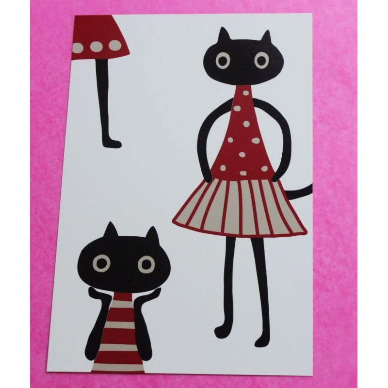 Carte postale 'MEME Fashion'