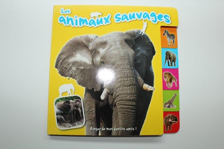 """Livre imagier  """"Les animaux..."""