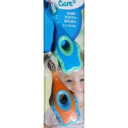 2 Brosses à dents + anneaux de dentition bébé
