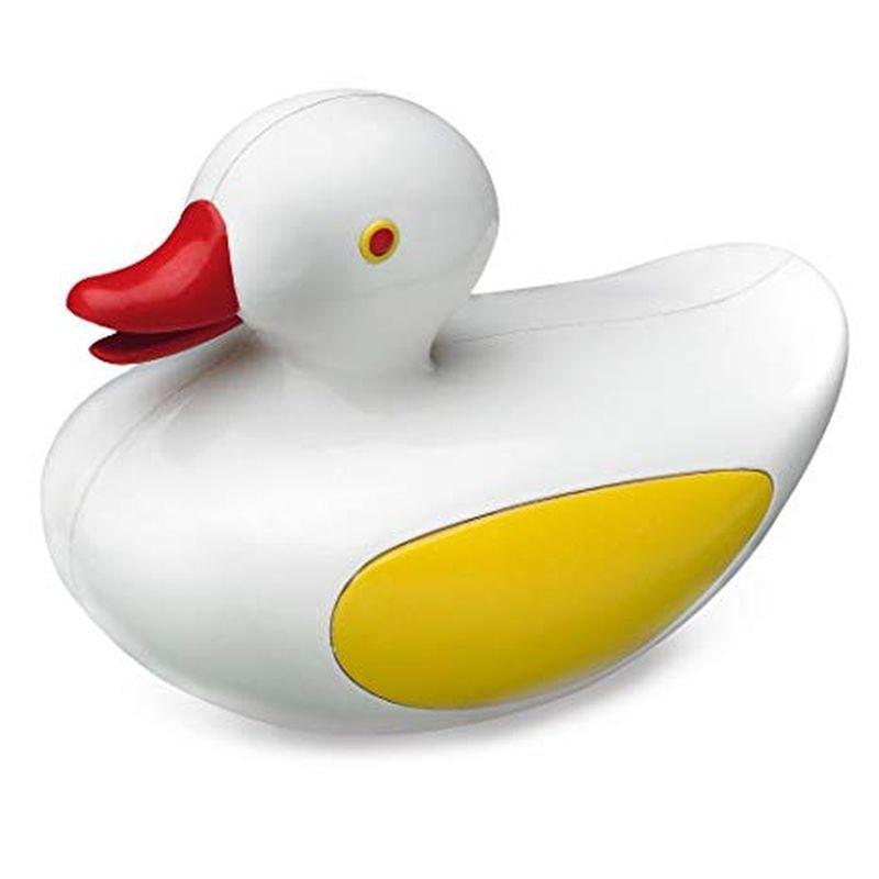 Grand canard de bain blanc