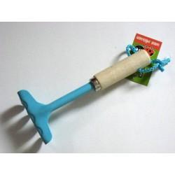 Mini rateau bleu 'Déclic Garden'