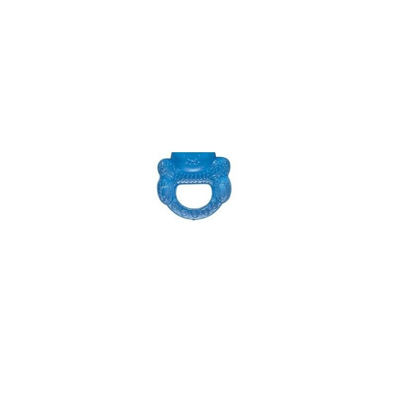 Anneau de dentition souple 'nounours' bleu
