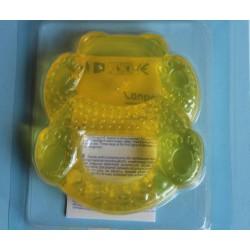 Anneau de dentition souple 'nounours' jaune