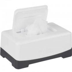 Boite à lingettes Blanc Neige