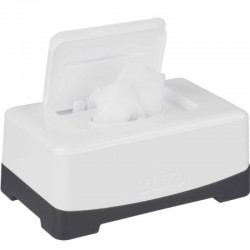 La boite à lingettes Blanc Neige