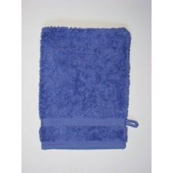 Gant de toilette en coton bio 'lavande'