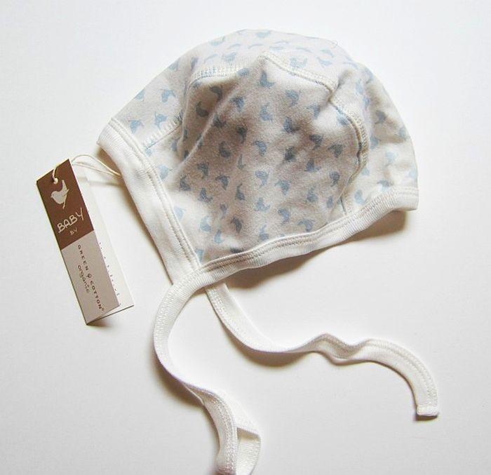 Bonnet bleu pour bébé