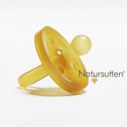 Sucette 'Natursutten' caoutchouc naturel 0-6 mois