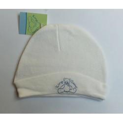 Bonnet de naissance beige 0-6 mois