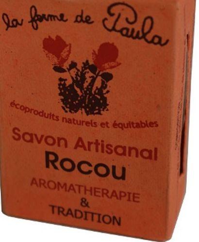 Savon artisanal au Rocou