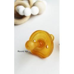 Sucette caoutchouc naturel forme Papillon  0-6 mois