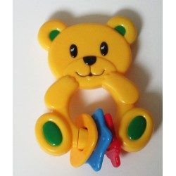 Hochet ourson jaune 'SimbaToys'