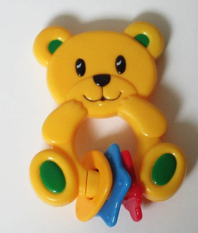 Hochet ourson jaune...