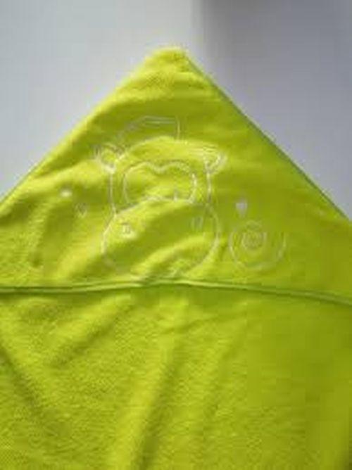 Cape de bain  vert
