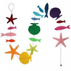 Guirlande 'Mer Multicolore '