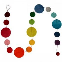 Guirlande 'Pastilles multicolores'